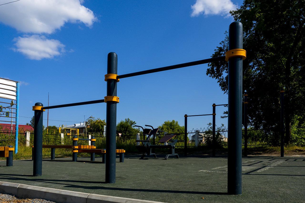 Спортивные школьные площадки в Искитиме