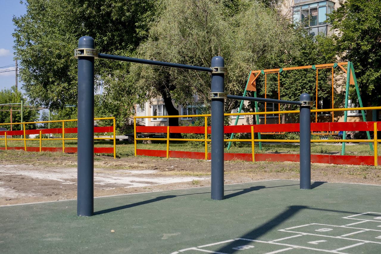 Спортивные дворовые площадки в Искитиме