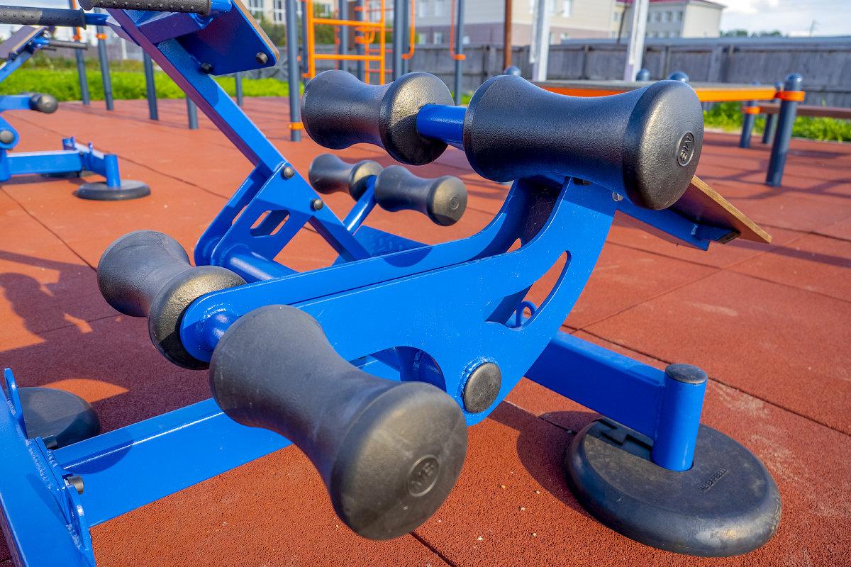 Площадка для тренировок и сдачи нормативов в Коченево