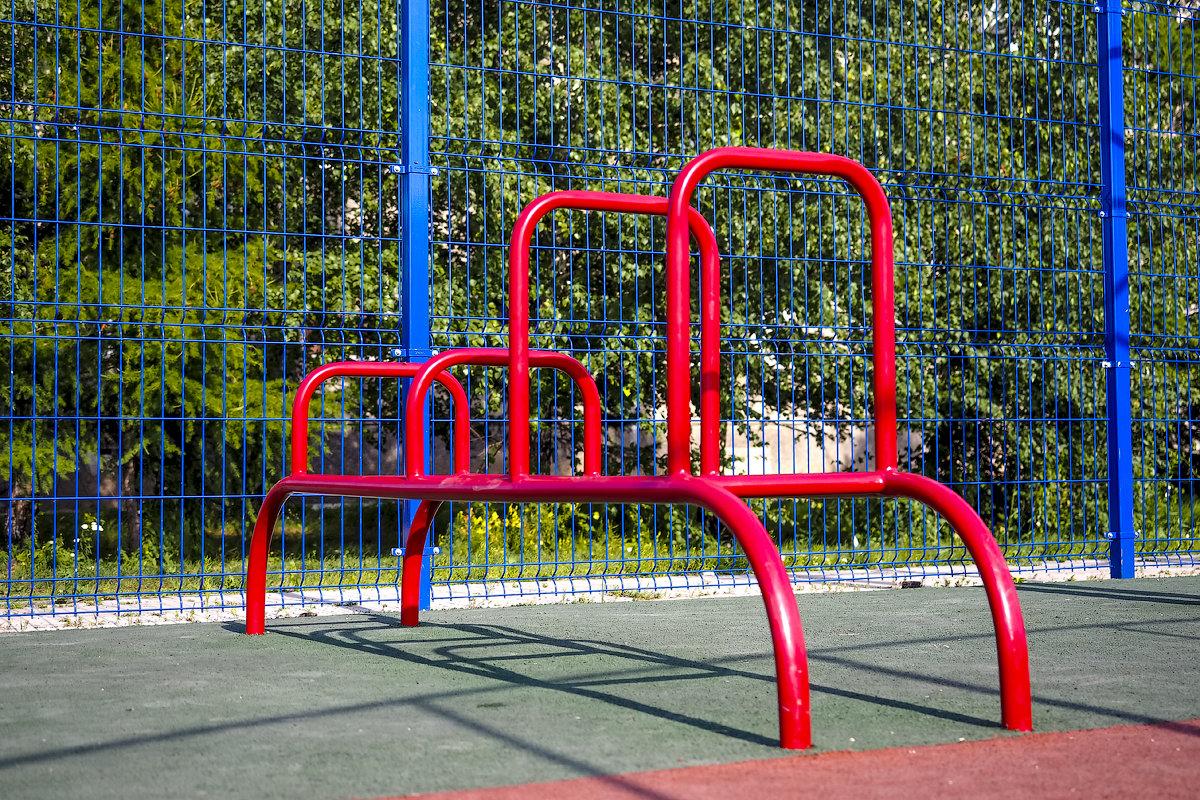 Спортивная площадка в Евсино