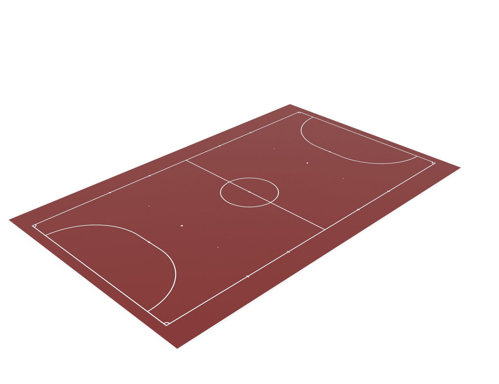 Разметка спортивных площадок. Разметка минифутбольной площадки.