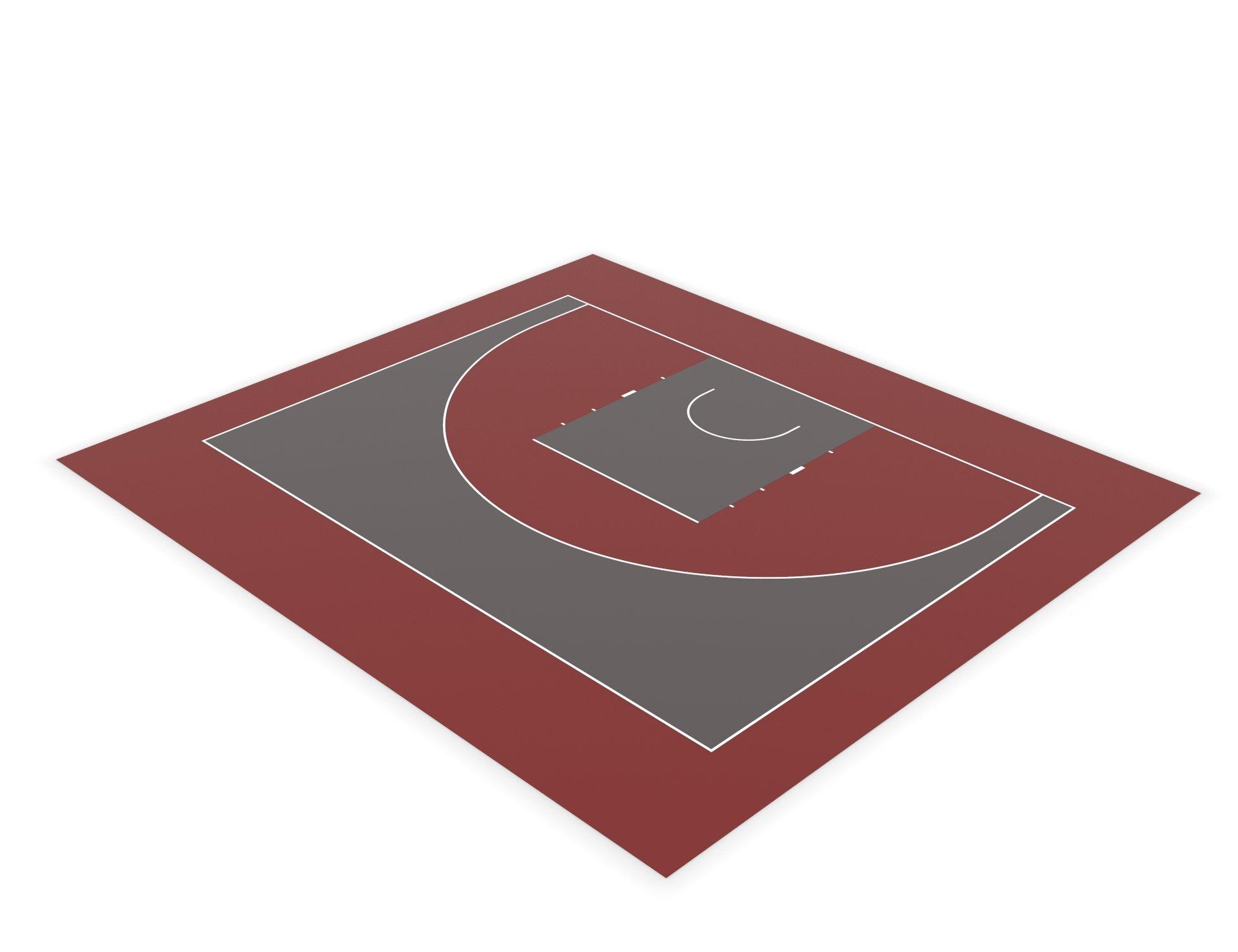 Разметка спортивных площадок. Разметка стритбольной площадки. Баскетбол 3x3